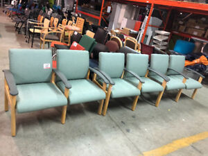 Guest waiting chairs. Quality built, great prices!