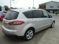 2012 (62) FORD S-MAX 2.2 TDCi TITANIUM Silver Manual Diesel Climate Cruise FSH