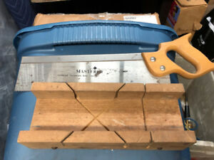 Old Wooden mitre saw