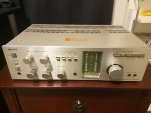 Vintage Sony TA-535 integrated amplifier