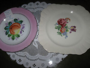 ....Two Lovely Old China Plates....