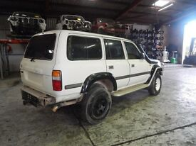 Wanted complete toyota landcruiser 80 series for parts