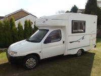 NU VENTURE SURF COMPACT MOTORHOME 2 BERTH WITH CENTRE DINETTE