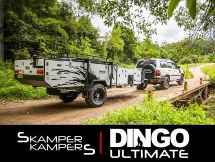 2018 Skamper Kampers Dingo Ultimate Forward Fold Camper Trailer Emu Heights Penrith Area Preview