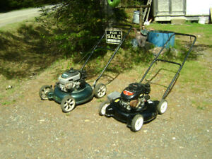 2 push mowers for sale