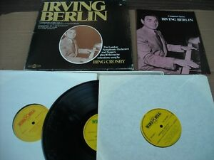 Irving Berlin 3 LP Box Set with booklet.