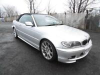 BMW 330 3.0TD 2006 Cd M Sport, FSH, Convertable, Silver