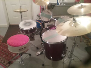 Mapex drum set 10 piece