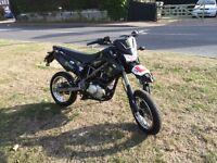Kawasaki klx 125 moted road legal ride away!