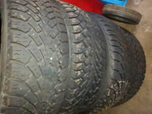 205 55R16 Goodyear Nordic winter tires