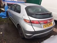 Honda civic 1.4 petrol 2006 spares and parts supply fitted
