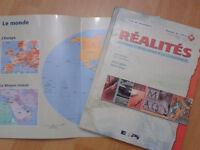 Réalités, manuel de l'élève 1A