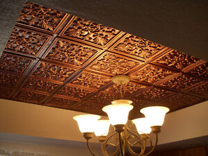 Faux Tin Ceiling Tiles - Ceiling Decor