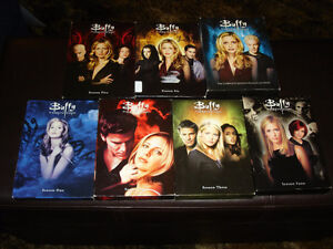 COMPLETE BUFFY THE VAMPIRE SLAYER DVD SERIES