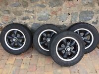 Fuchs replica alloys 205 PCD - VW Camper or similar