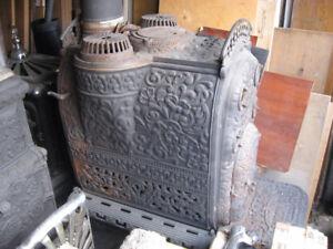 Yukon Triple Heater Old/Antique Wood Stove  Woodstove
