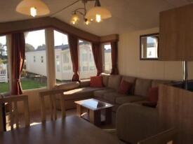 Willerby Granada. 2 Bedroom Caravan with Decking Sited on Hayling Island.