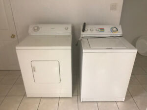 Whirlpool washer dryer Set for Sale $250