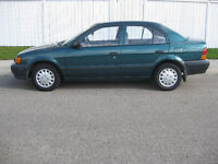 1996 Toyota Tercel DX Sedan*Low Kilometers**