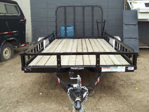 "10' x 77"" SINGLE AXLE UTILITY  PJ TRAILER"