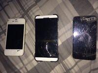 iPhone 4s & blackberry z10