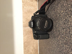 Canon 60d with lense