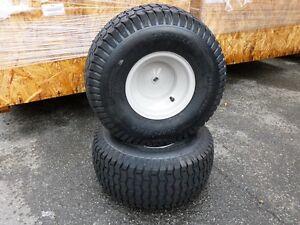 2 Stück MTD Rasentraktor Räder Reifen 20x8.00 - 8NHS CARLISLE TURF-SAVER