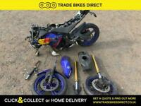 Yamaha YZF R125 2010 SPARES OR REPAIR PROJECT BIKE HPI CLEAR DAMAGED SPORT 125CC