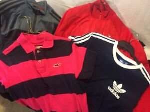 MEN'S BRAND NAME CLOTHING SMALL and MEDIUM