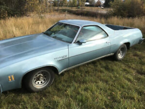 1976 Chevrolet El Camino: beautiful condition, must sell!