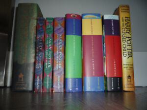Lot of 8 Harry Potter Books Complete Set 1-8 Bloomsbury