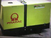 Stephill & Pramac diesel generators 10kva silent