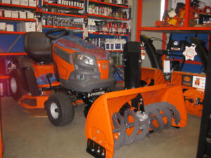 END OF SEASON SALE ON   riding tractor & lawn mower