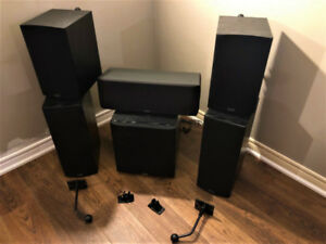 Paradigm 5.1 Channel Home Theatre Speaker System