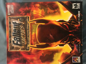 Fallout Tactics rare new never played PC game