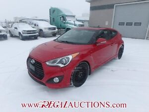 2013 HYUNDAI VELOSTER TURBO 2D COUPE 6SP 1.6L