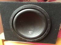 Inphase sub and amp great condition