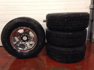 17 Inch rims and tires from Dodge 1500