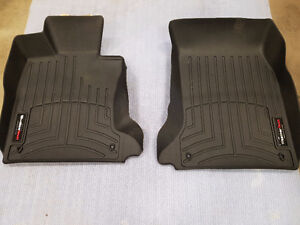 WeatherTech Front Black Floor Liners BMW 5 Series