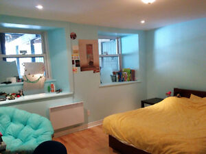 Lease transfer/sublet, June-Aug: Large bedroom in McGill Ghetto