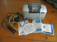 Epson PictureMate with disc & manual etc.