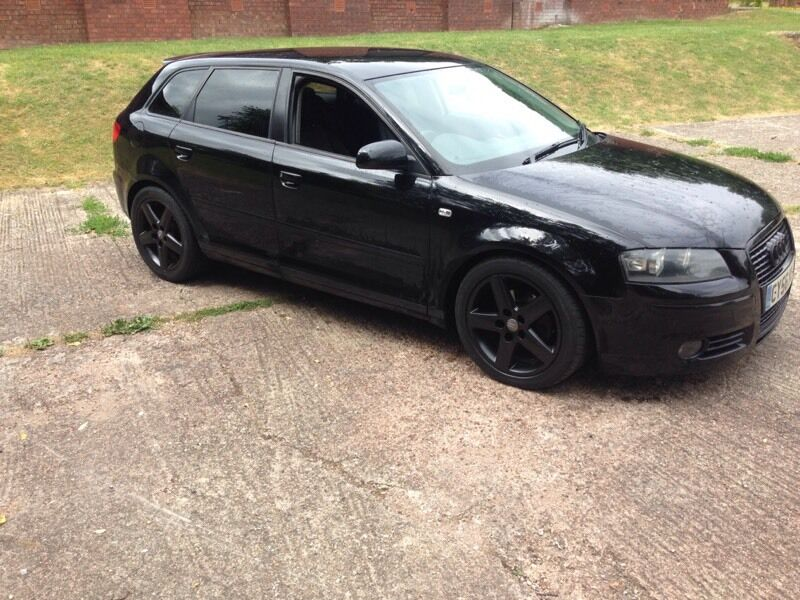 2007 Audi A3 2 0tdi Black Remapped Tinted Windows Full