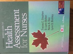 Health Assessment for Nurses textbook