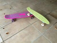 Pink or Yellow Penny Board