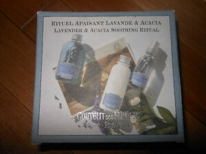 New - Lavender & Acacia Soothing Ritual - $25 Made in France