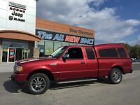 2007 Ford Ranger XLT LOW MILEAGE, ACCIDENT FREE, ALLOYS