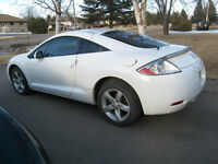 White 2008 Mitsubishi Eclipse GS Coupe (2 door)