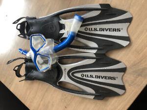 Snorkel set - men's