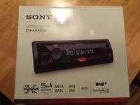 **Boxed As New Sony DSX-A300DAB DAB Digital Car Stereo/Radio**