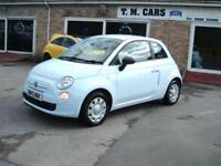 2010 Fiat 500 1.2 POP 3d **£30 Tax / New MOT**